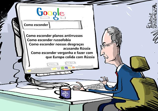 Ok Google, como culpar a Rússia por tudo e sair ileso