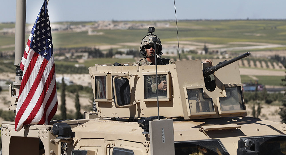 Soldado norte-americano na Síria (foto de arquivo)