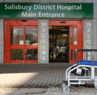 Hospital em Salisbury onde ficam Sergei e Yulia Skripal