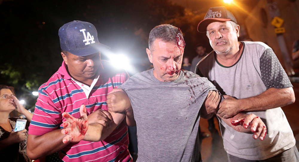 Homem é agredido em frente ao Instituto Lula na última quinta-feira (5)
