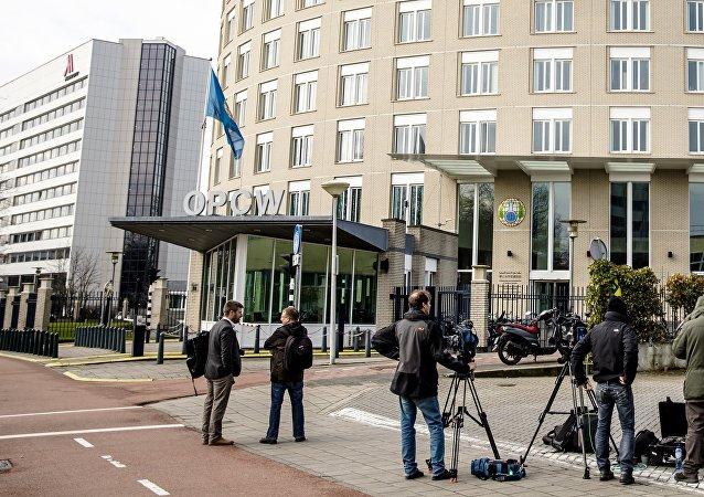 Sede da Organização para a Proibição de Armas Químicas (OPAQ), em Haia, na Holanda