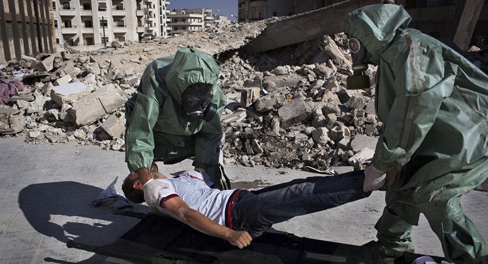 Organização internacional vai à Síria investigar uso de armas químicas