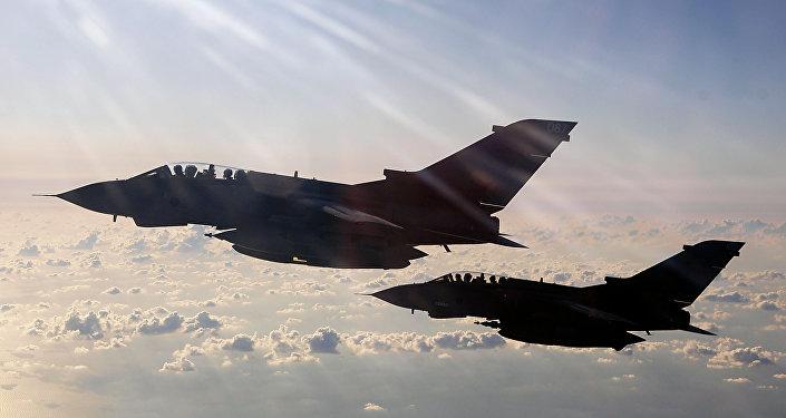 Aviões britânicos RAF Tornados