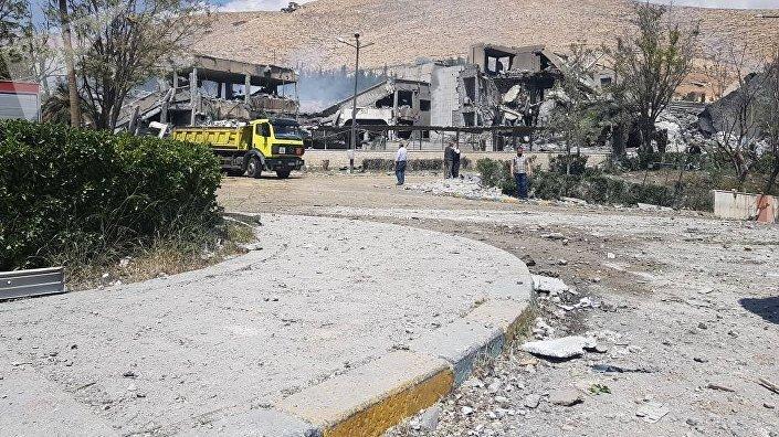 Consequências do ataque realizado pelos EUA, Reino Unido e França em 13 de abril