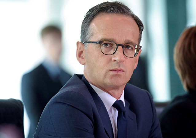 Heiko Maas, ministro das Relações Exteriores da Alemanha (arquivo)