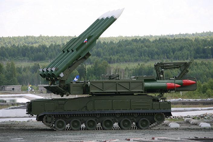 Sistema de mísseis russo Buk-M2E