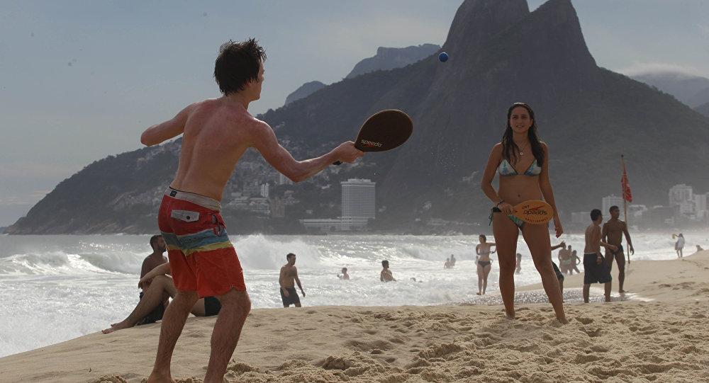 FRESCOBOL PATRIMÔNIO IMATERIAL RIO