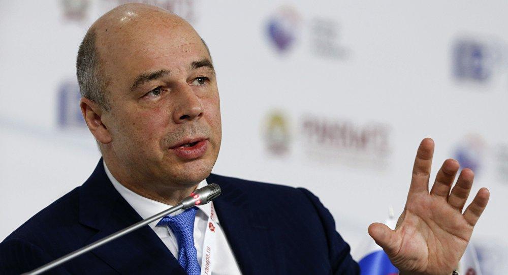 Anton Siluanov, ministro das Finanças russo