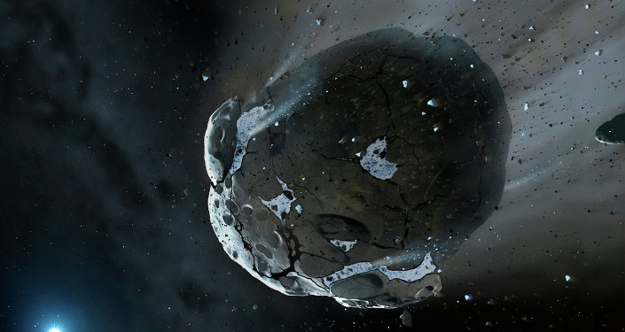 Asteroide (imagem de referência)