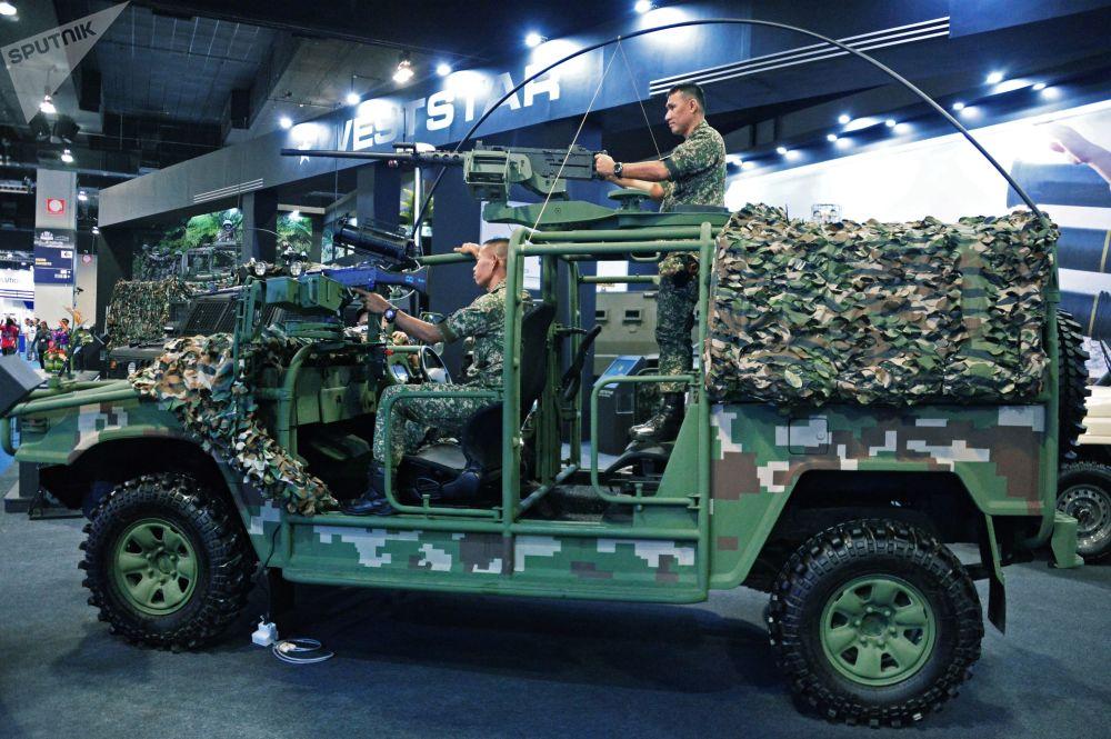 Veículo tático multifuncional GK-M1 elaborado pela companhia malaia Weststar