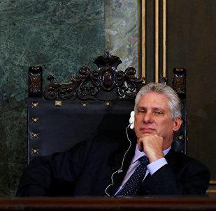 Miguel Diáz-Canel, indicado à Presidência de Cuba