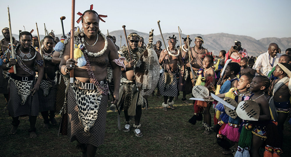 O rei da Suazilândia, Mswati III