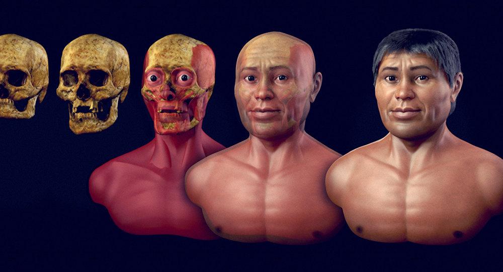 Universidade Católica de Pernambuco apresenta a reconstrução do rosto de um homem que viveu há dois mil anos