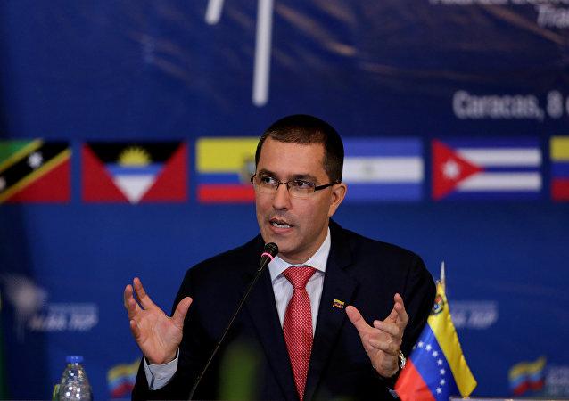 Ministro das Relações Exteriores da Venezuela, Jorge Arreaza