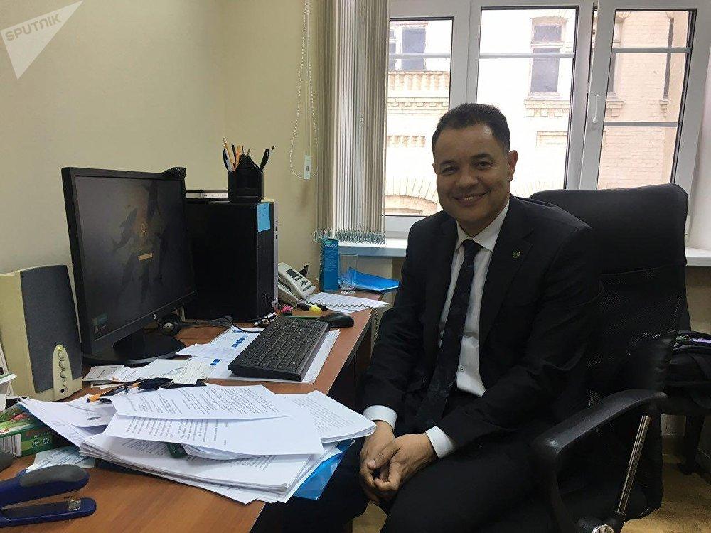 Cósam de Carvalho Coutinho, Adido Agrícola da Embaixada da República Federativa do Brasil em Moscou, em 26 de abril de 2018