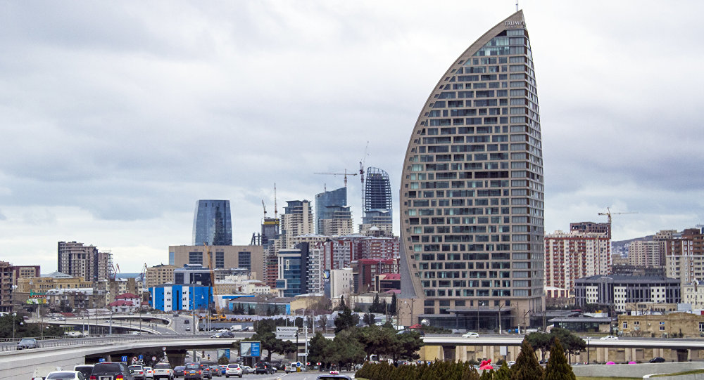 Trump Tower Baku (foto de arquivo)