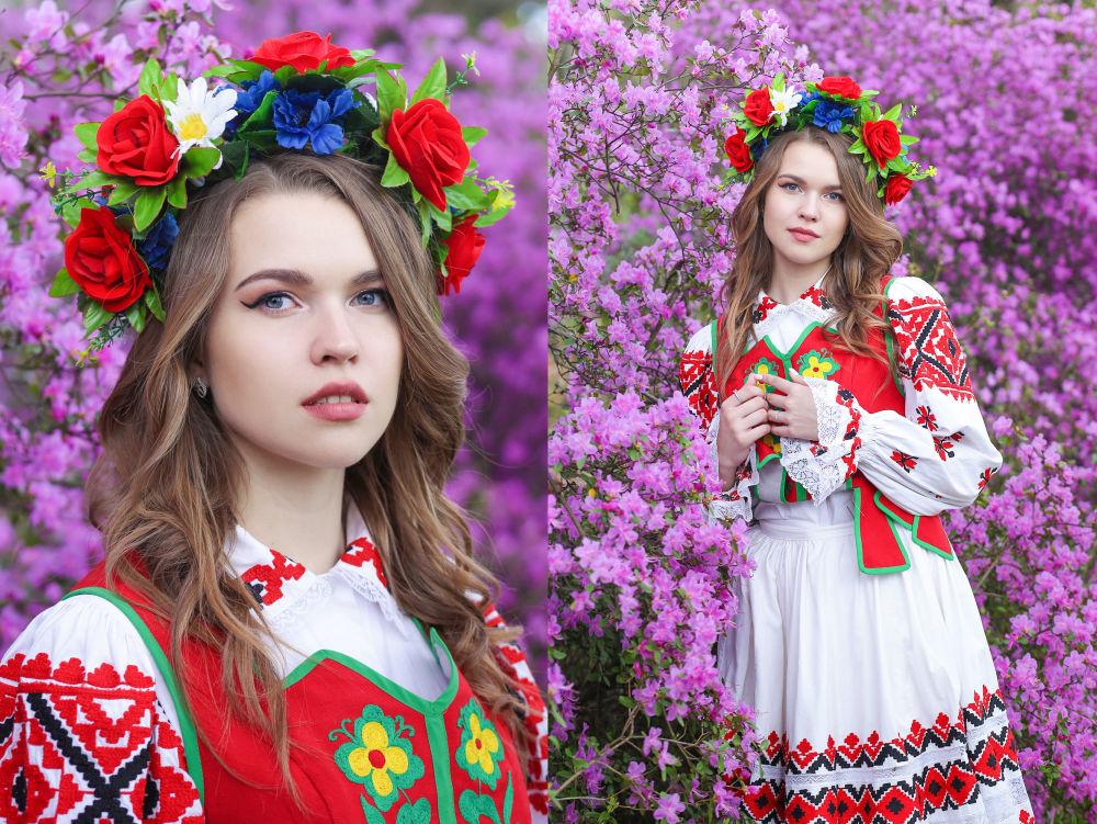 Veronika Adamovich, estudante do 1º ano da Universidade Estatal de Economia da Bielorrússia
