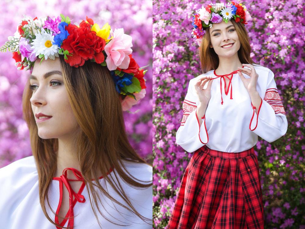 Elizaveta Svyatogor, estudante do 3º ano da Universidade Estatal de F. Skorina, na cidade de Gomel