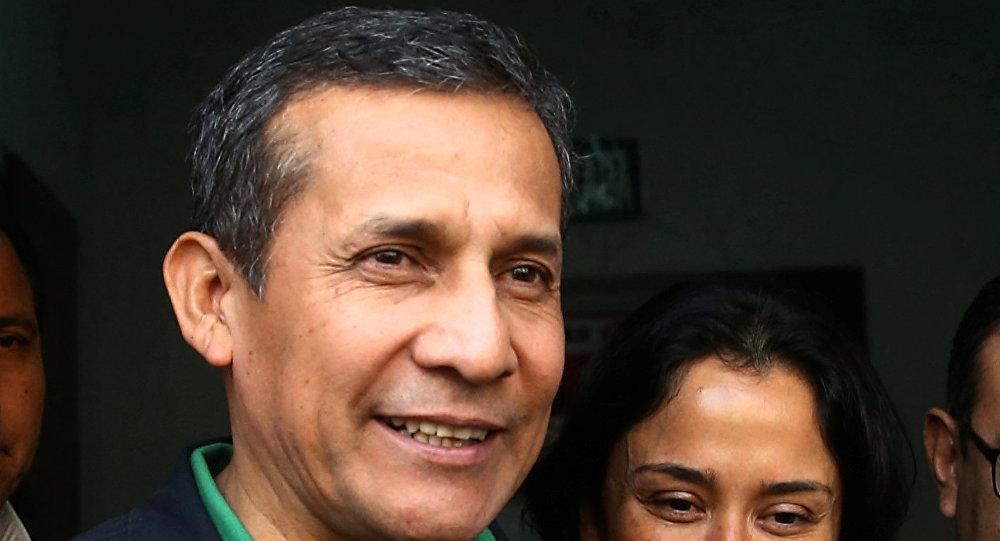 Ex-presidente do Peru, Ollanta Humala, e sua esposa, Nadine Heredia