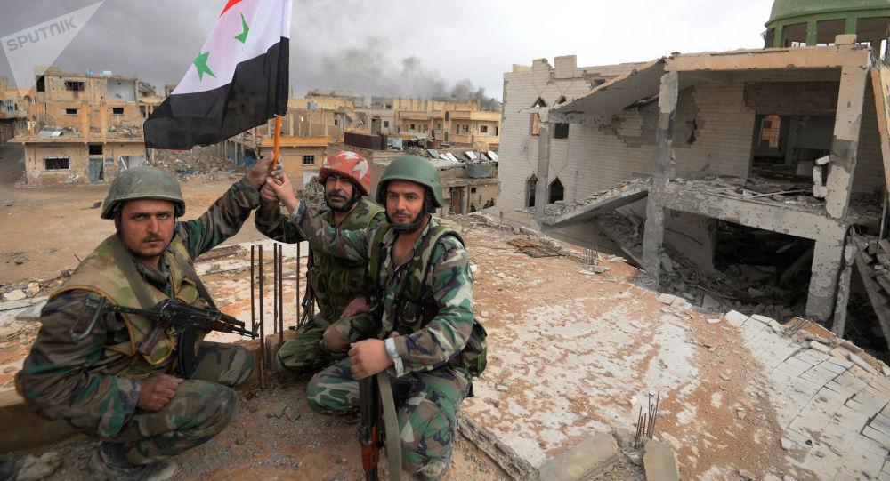 Exército sírio (imagem referencial)