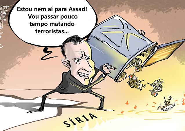 Jeitinho francês de mudar meta na Síria, pelo menos para uma melhor