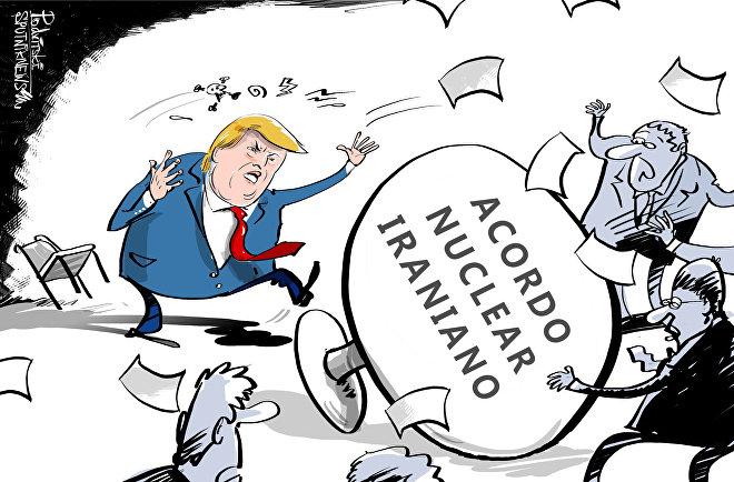 Sentar-se à mesa de negociações não é o forte de Trump