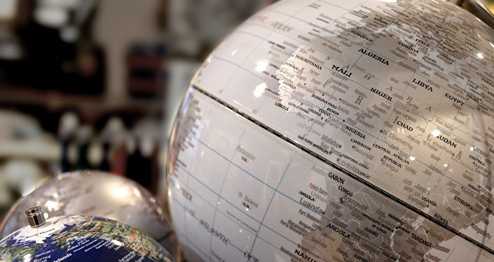 África no globo (imagen referencial)
