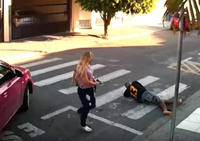 Policial militar reagiu e atirou contra suspeito em Suzano (SP)