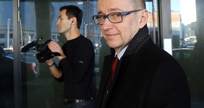 Tero Varjoranta, agora ex-chefe de inspeções da Agência Internacional de Energia Atômica (AIEA)