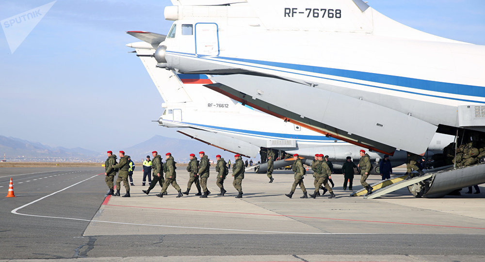 Polícia militar da Rúsia na Síria (foto de arquivo)