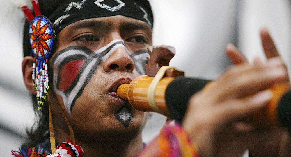 Um nativo americano