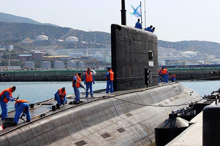 Submarino russo Novorossiysk da classe Varshavyanka