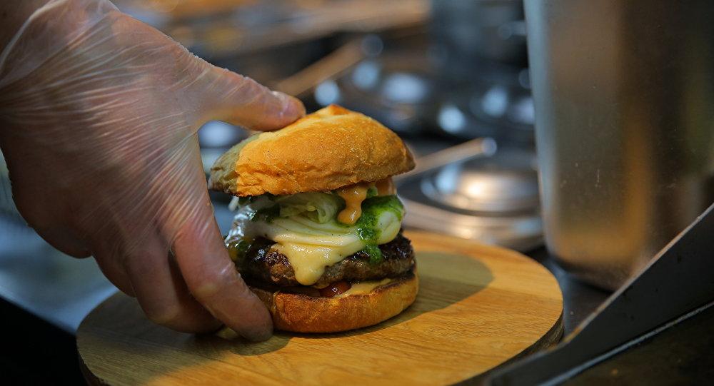 Sanduíche do VOLK burgers