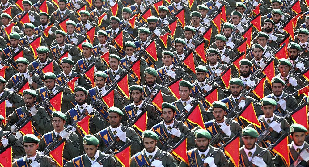 Membros da Guarda Revolucionária do Irã (arquivo)
