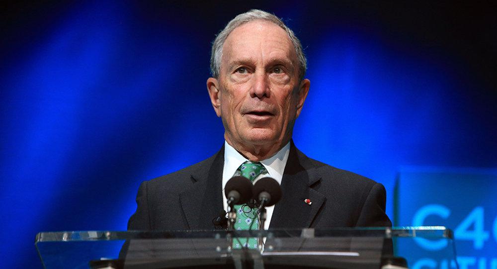 Ex-prefeito de Nova York, Michael Bloomberg