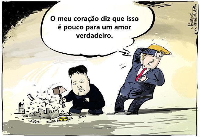 Está difícil conseguir amor de Trump