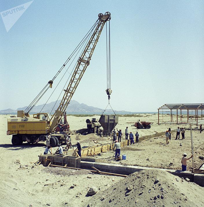 Construção de uma usina termelétrica no Iêmen em cooperação com a URSS