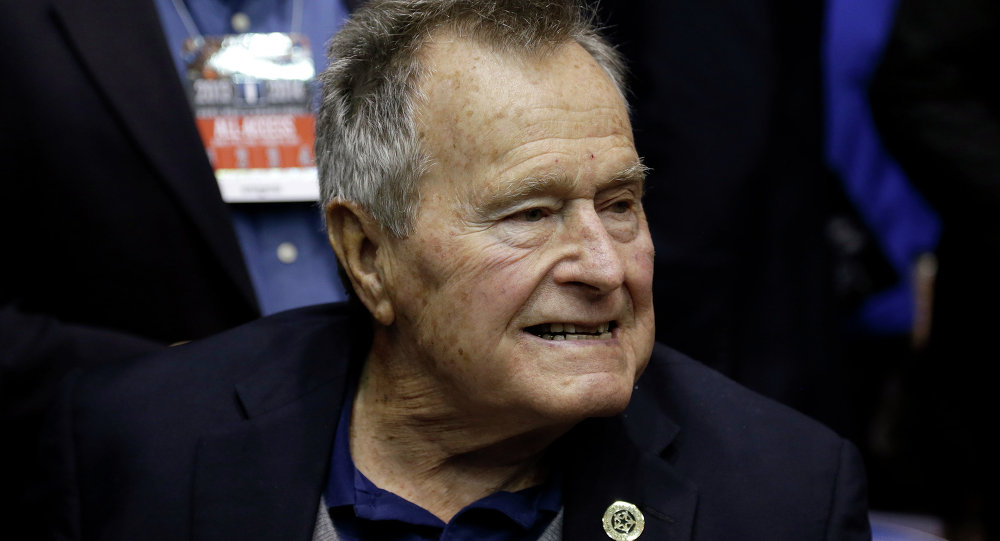 George H.W. Bush, ex-presidente dos Estados Unidos