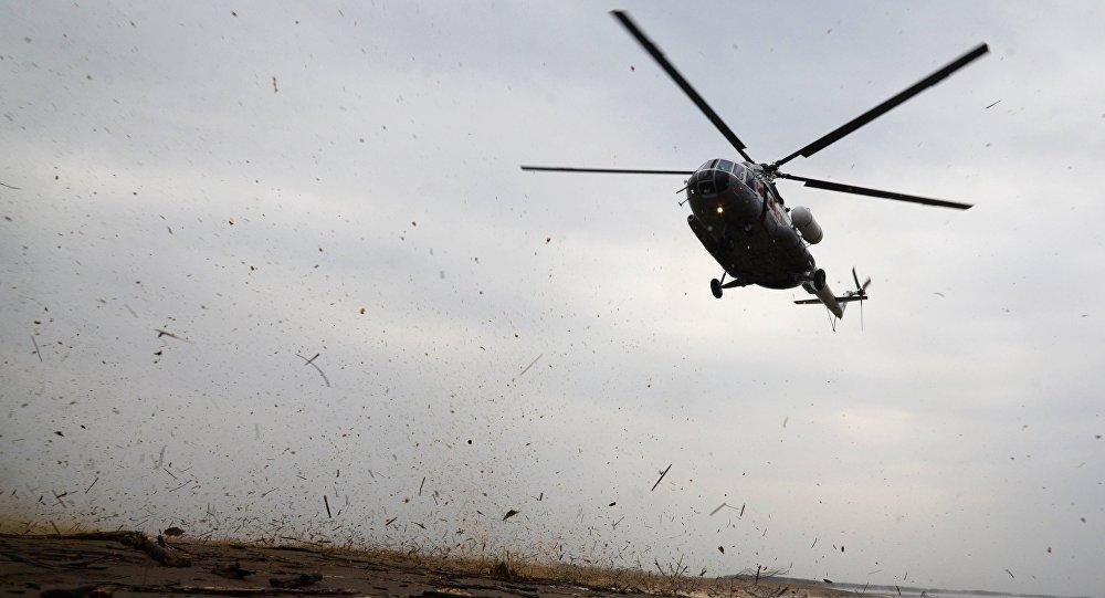 Helicóptero Mi-8 na região de Khabarovsk (imagem referencial)