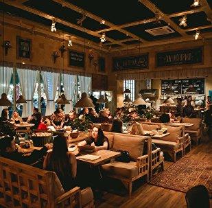 Restaurante Khachapuria em Nizhny Novgorod