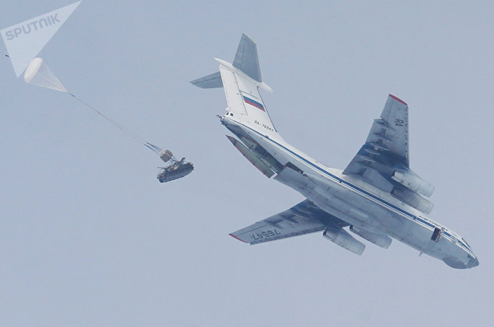 Exercícios das Tropas Aerotransportadas da Rússia na região de Ryazan
