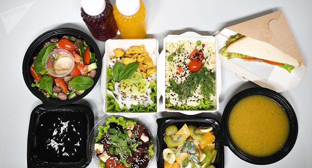 Combo de comidas dietéticas do delivery Fresh Diets em Volgogrado