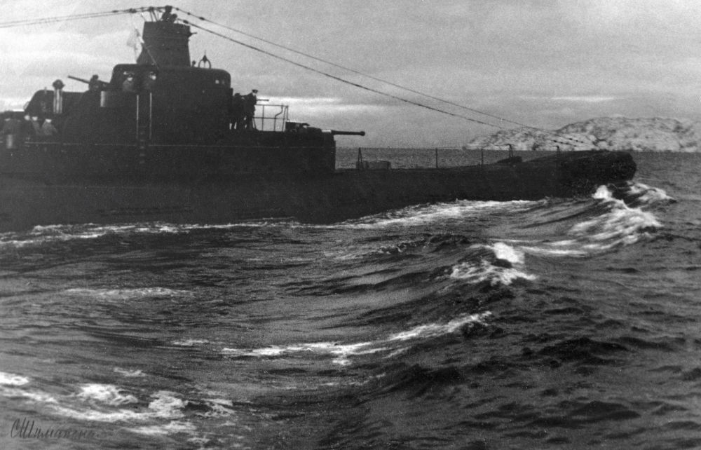 Submarino K-21 da Frota do Norte da Marinha da União Soviética