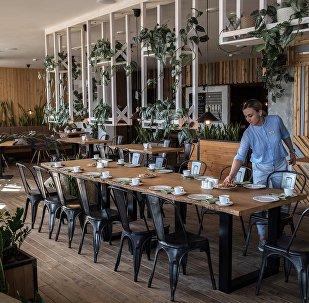 Green Cafe em Rostov-no-Don