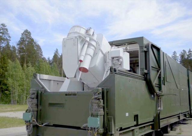 Sistema de combate a laser Peresvet