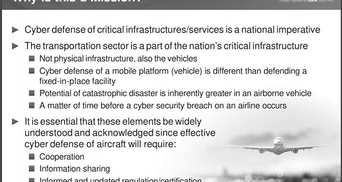 Documentos do Departamento de Segurança Interna sobre segurança cibernética na aviação dizem que é apenas uma questão de tempo antes que um avião comercial seja hackeado.