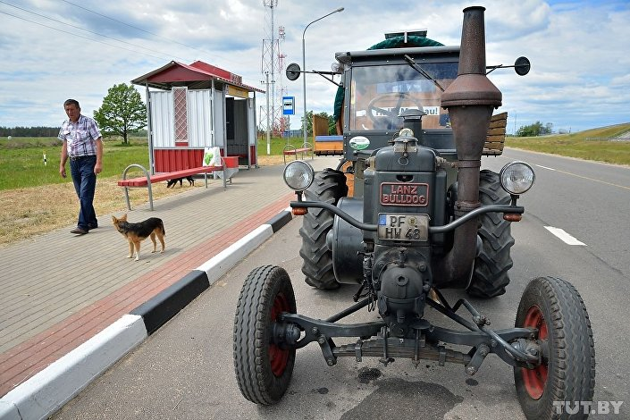 Trator Lanz Bulldog de Hubert Wirth