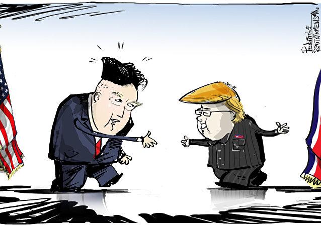 A gente troca penteado, mas míssil a gente não troca, não