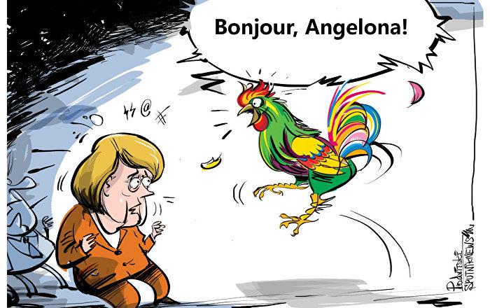 França agora quer cantar de galo