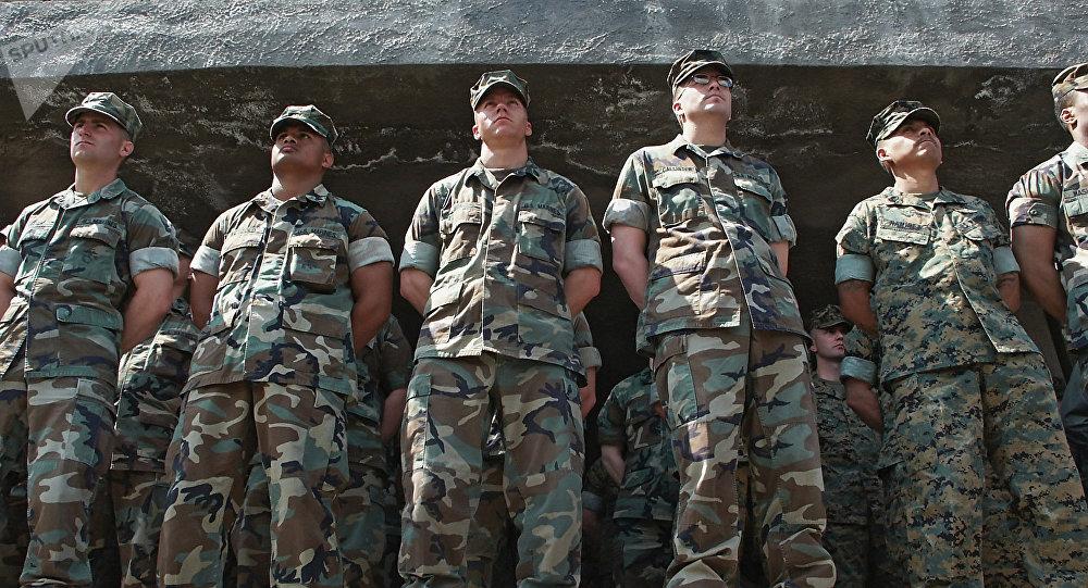 Instrutores militares dos EUA